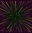 space vortex abstract background with star vector image vector image
