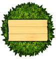 Wooden board Stock vector image