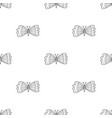 butterflies seamless pattern in boho style vector image vector image