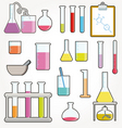 Chemical test tubes vector | Price: 1 Credit (USD $1)