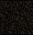 gold disco glitter background vector image