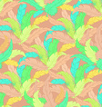 hand drawn boho seamless pattern with colored vector image vector image