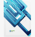 rectangle tube elements background vector image vector image