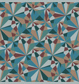 seamless background made of traingle mosaic vector image vector image