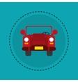 single car transport image vector image vector image