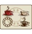 Coffee Cup Set vector image