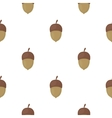 Acorn icon in cartoon style for web vector image vector image