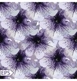 Design of seamless floral card vector image vector image