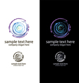 logo art salon vector image vector image