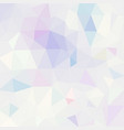 polygonal mosaic background in pastel colors vector image