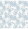 seamless pattern with winter nature vector image vector image
