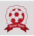 soccer sport design vector image vector image