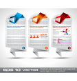Website Layout vector image vector image