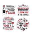 wine quote and saying 100 best for graphic in vector image vector image