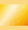 abstract triangular yellow orange summer vector image vector image