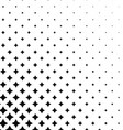 Black white abstract pattern design background vector image vector image