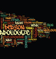 find your best way to apologize text background vector image vector image