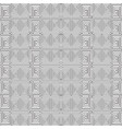 greek key meander black and white seamless vector image