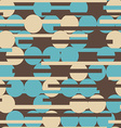 retro circle seamless texture vector image