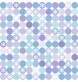seamless winter modern colorful pattern vector image vector image