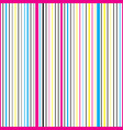 striped vertical seamless pattern vector image vector image