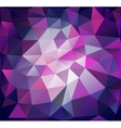 Triangle background Lilac polygons vector image