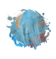watercolor grunge spot vector image vector image