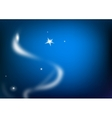 abstract star background vector image vector image