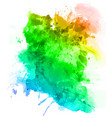 abstract watercolor paint art background vector image vector image