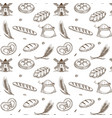 bakery products old mill and fresh spikes inside vector image vector image