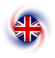 british background vector image
