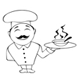 chef icon in vector image