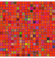 Colorful mosaic pattern vector image