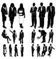 fashion women and man vector image vector image