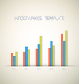 Web Infographic Timeline Bar Template Layout With vector image vector image