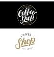 Set of Coffee Shop logos badges or labels banner vector image