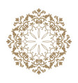 arabic flower ornament floral background abstact vector image vector image