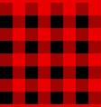 black and red tartan plaid scottish seamless vector image vector image
