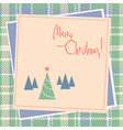 christmas scrapbook design vector image