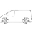 Delivery car outline drawings