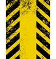 hazard stripes vector image vector image