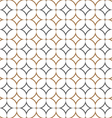 Retro textile stylish seamless pattern vector image vector image