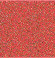 seamless crispy flower pattern colored perfect vector image