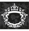 Vintage floral elements for design vector image vector image