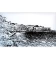 Chania on island of Crete Greece vector image