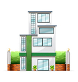 A tall building vector image vector image