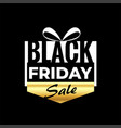 creative black friday sale banner design vector image vector image