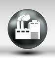 factory icon button logo symbol concept vector image vector image