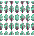 green nice organic leaf plant background vector image