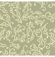 Old lace background floral ornament texture vector image